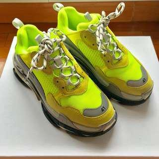 2019 Triple S Кроссовки Старый папа кроссовки, мультиматериалы женские сапоги и мужская мода повседневная обувь Размер 36-44