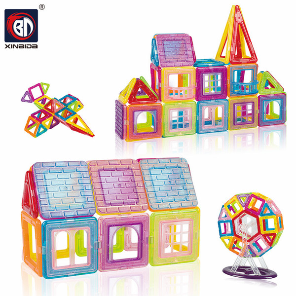 86 Pieces Magnets Building Blocks Toy Educational Learning Kids Game