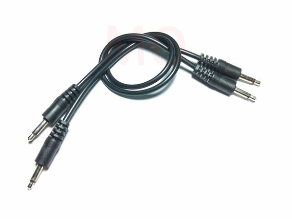 3.5mm Male Mini Plug To Male Monaural Mono Audio Extension Cable New