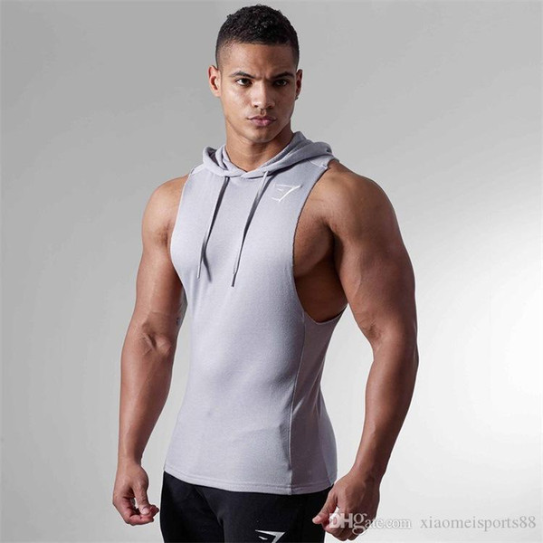 mens clothes vest Sleeveless Vest Summer Cotton Male Tank Tops Gyms Clothing Bodybuilding Undershirt Workout Fitness Tank Tops