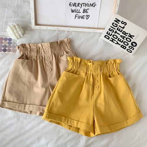zenzero pantaloncini gialli