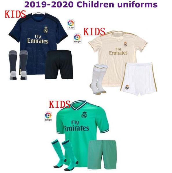 Ramos Real Madrid niños VINICIUS JR. equipación juvenil España 2020 camisetas de fútbol Eden HAZARD 7 equipos de fútbol realmadrid Bale 2019/20