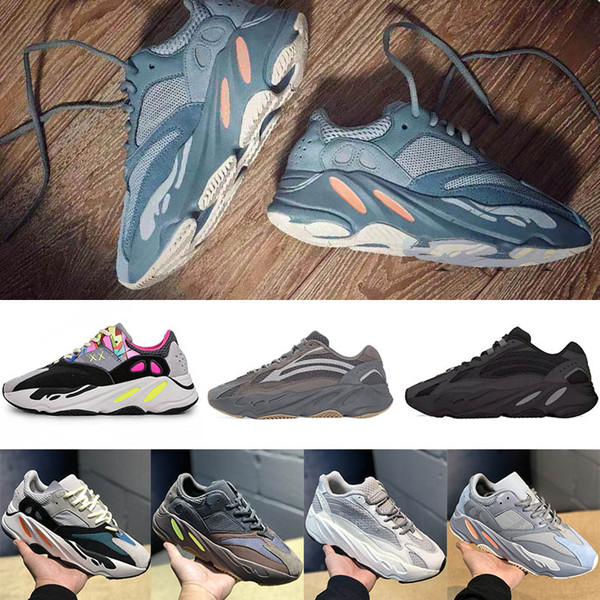 2019 New Cheap Vanta Geode Mauve running shoes mens best quality wave runner Kanye West Brand designer sneakers trainers US5-11.5