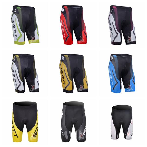 Equipo SCOTT Pantalones cortos de poliéster para ciclismo de verano Ciclismo de montaña esencial Pantalones cortos deportivos de secado rápido al aire libre Q62718