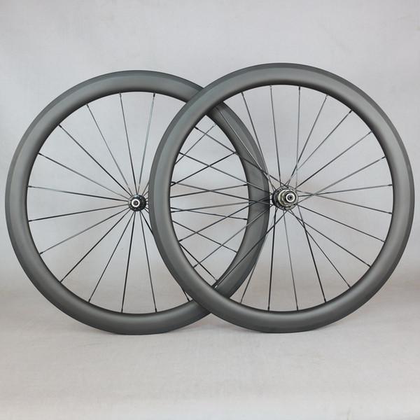 Gravel bike Road bike carbon aero ruote con mozzi novatec Ruote 24mm 38mm 50mm 60mm 88mm Profondità Profilo tubolare Copertoncino Carbonio cinese