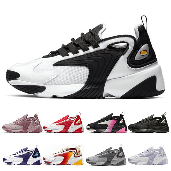 Nike Zoom M2K Tekno Sail White-Black Dark Grey for men's running sneaker shoes air sports shoes