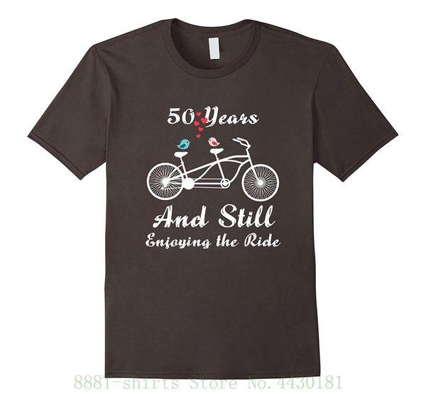 T-Shirt der Frauen 50. Hochzeitstag-T-Shirt 50 Jahre Heirat-Geschenk druckte lustige T-Shirts Frauen