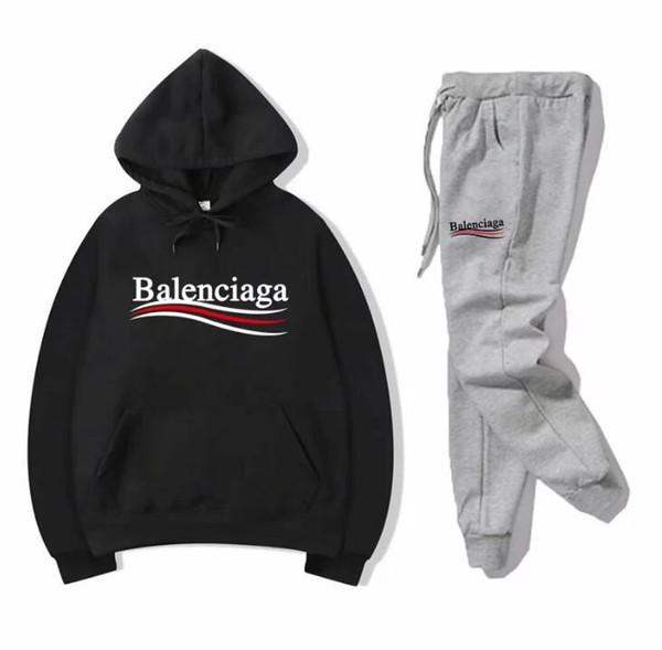 Hot sale sweatsuit Designer Tracksuit Autumn winter hoodies+pants Mens Clothing Sweatshirt Pullover women Tennis Sport Tracksuit Sweat Suit