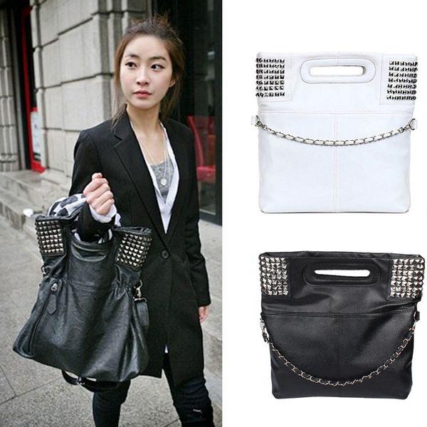 Dame Mädchen Mode koreanischen Stil Pu Leder Hobo Handtasche Schultertasche Fab Damen Tasche