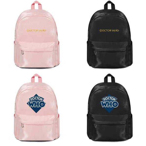 Doctor Who 2015 Hersteller verkaufen Designer-Rucksack Handtaschen Umhängetaschen Männer Frauen Nylon Cool Laptop Rucksack Basketball Tasche rosa