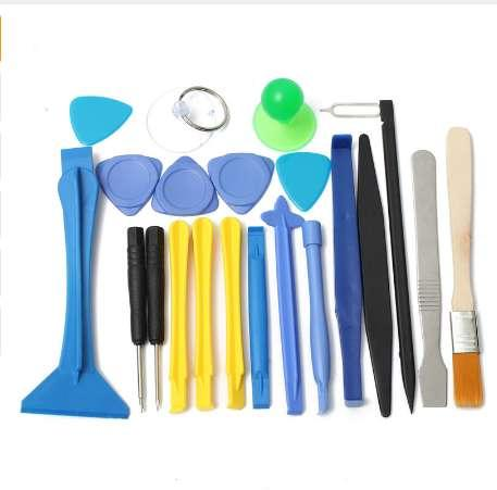 Drillpro 22 in 1 Screwdriver Repair Opening Pry Tool Suction Kit Set For Cellphone Tablet Hand Tools Set