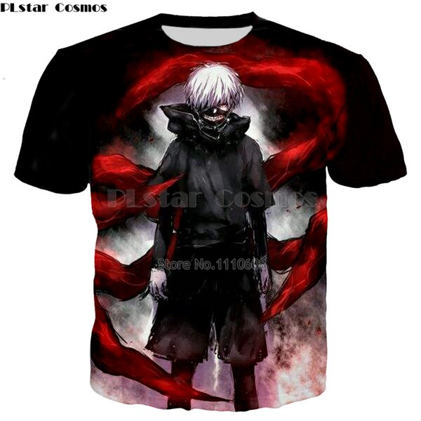 Plstar Cosmos Hot Anime Tokyo Ghoul 3d Print T-shirts New Style Fashion Men/women Tshirts Loose Thin Free Shipping Shirts Tops C19041901