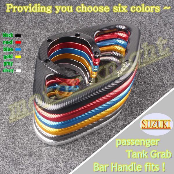 universal CNC tail rear manual tank cover grip For GSXR 600/750 GSXR1000 GSXR1300 Hayabusa SV650 GSX600F K5 K6 K7 K8 K9