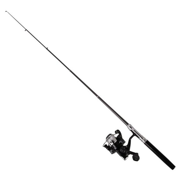 Portable 1m Mini Spinning Fishing Rod Practical Pen Shaped Fishing Pole with Reel Outdoor Essential Supplies