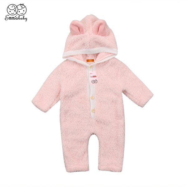 Newborn Infant Baby Boy Girl Rompers Long Sleeve Jumpsuit Cotton Bodysuit Clothes Outfit Children Boys Girls Romper 0-4Y