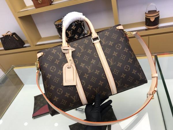 Classique Messenger Sac cuir véritable sac à main femme d'impression Totes Sacs bourse épaule Sac à bandoulière Sac grande taille