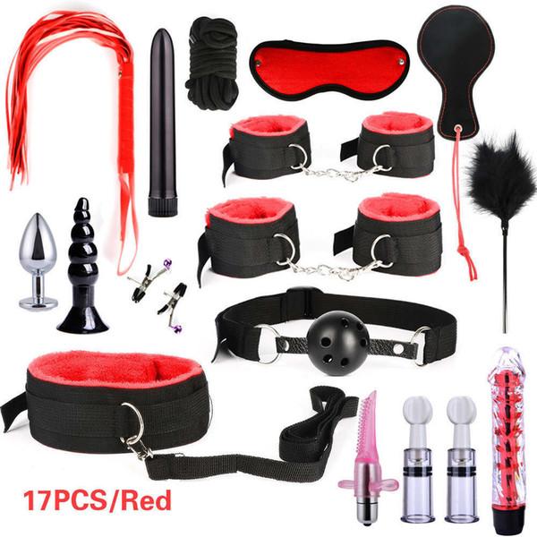 17PCS Red