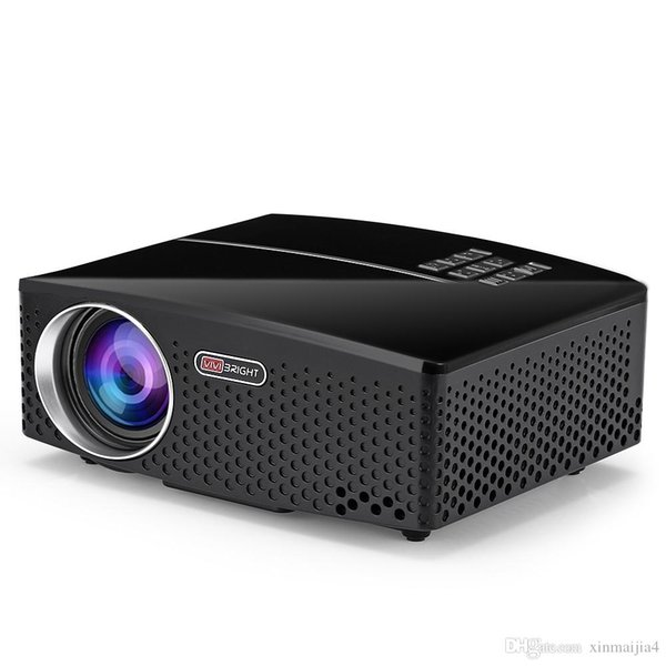 GP80 LED 1800 Lumens HD Mini Portable Projector for Home Theater Cinema Supprot 1080P USB HDMI