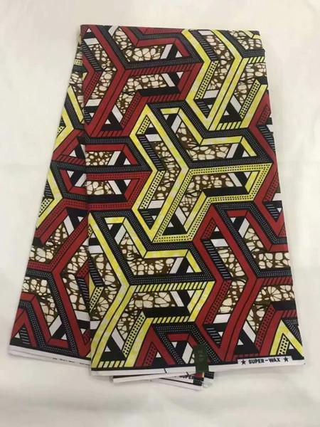 Haute qualité prix de gros de la cire africaine java Hollande imprime des tissus (lot de 6 mètres) coton africain cire JAVA d'ankara!