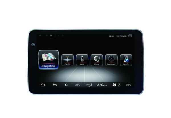 RAM 4G ROM 32G автомобильный DVD стерео навигация радио мультимедиа Для Mercedes Benz C GLC V 2015-2018 поддержка Carplay Wi-Fi GPS BT Радио easyconnet