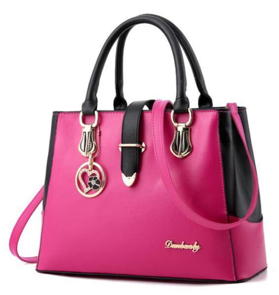 Large Capacity Bag Handbags Top Handles 2019 brand fashion designer luxury bags Womens purses women backpack wallets handbag European Pink