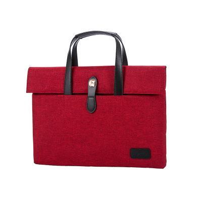 2019 hommes d'affaires directs sac portable décontracté portable plat sac Oxford serviette en tissu une génération