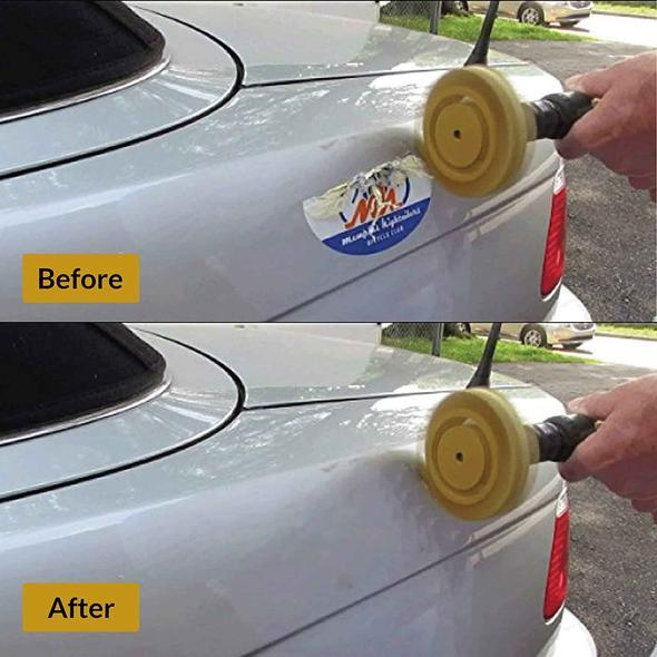 best selling Decal Eraser Removal Wheel Kit Disk Pneumatic Car Cleaning Care Pinstripe Decal Rubber Eraser Graphic Auto Repair Paint Tool