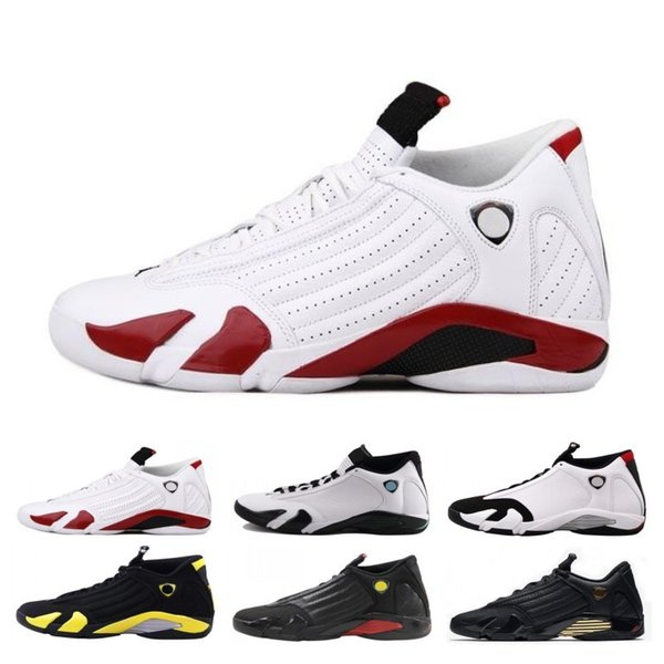 Classic Reverse 14 14s Men Basketball Shoes University Gold Candy Cane Desert Sand Last Shot Thunder Mens Trainer Sports Sneakers