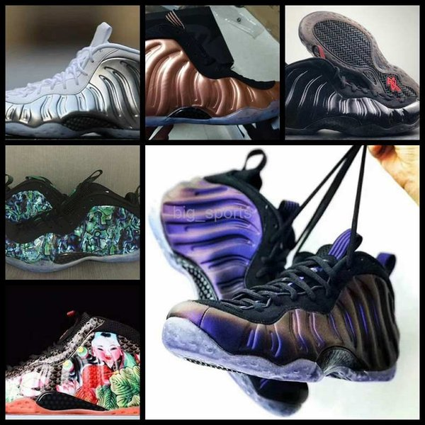 2018 New Penny hardaway One galaxy Mens Basketball Shoes Pink Rose Gold Men designer Sneakers Brand Zapatos Trainers Foams Sports Shoes