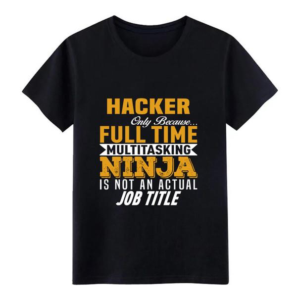 T-shirt Hacker pour hommes créer un t-shirt shirt cool à manches courtes O-Neck Natural Humor