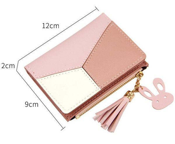 Luxury Handbags Purses Fashion Short Ladies Zipper Wallet with Sulphur and Big Volume Change Card Bag Best Selling Cute Mini Girl Purse Hot