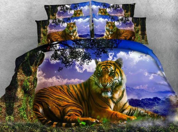 tiger duvet covers