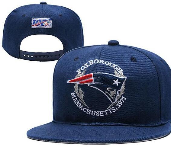 2019 New England Toptan Taslak Monte Şapka NE Ayarlanabilir Snapback Futbol Kapaklar On-Stage Ücretsiz Nakliye 00