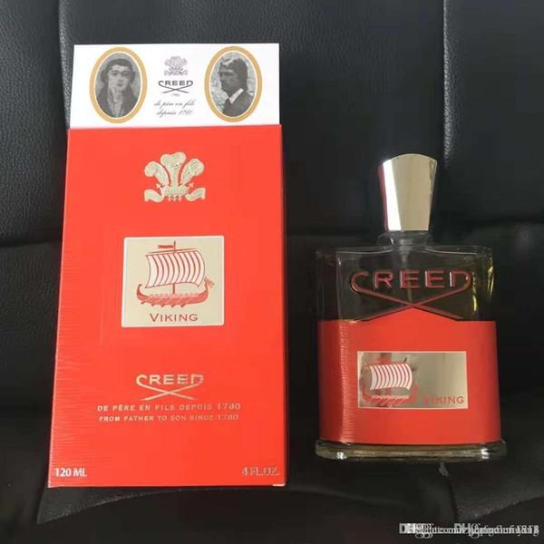 2019 Yılbaşı hediyeleri Creed 120 ml aventus parfüm erkekler için uzun ömürlü zaman kaliteli yüksek koku kapasitansı Ücretsiz nakliye
