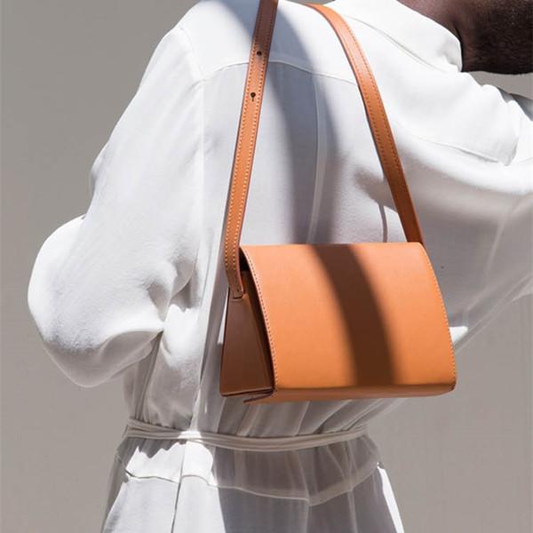 Fashion Geometric Triangle Women's Shoulder Bags Woman Solid Box Type Handbags Women Pu Leather Messenger Bags Ladies Bolsas New