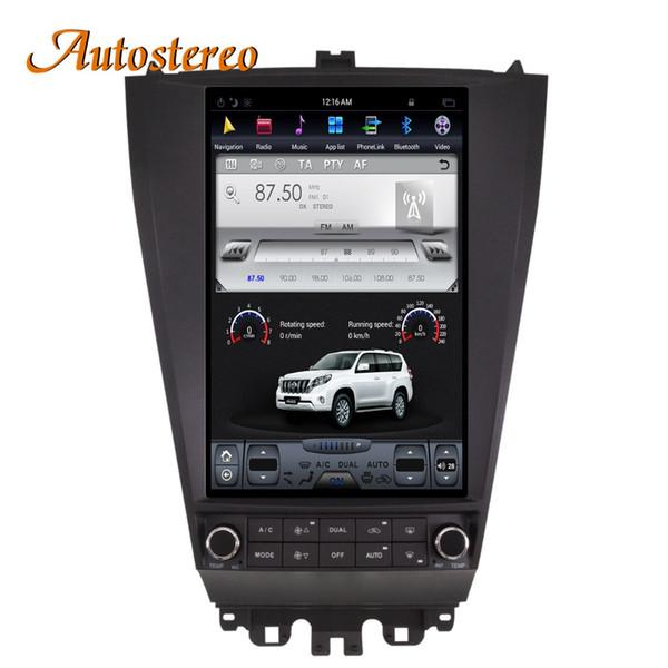 Navegação GPS Do Carro estilo Android7 Tesla Para HONDA ACCORD 7 sete 2003-2007 auto-rádio rádio gravador de mídia sem DVD Player