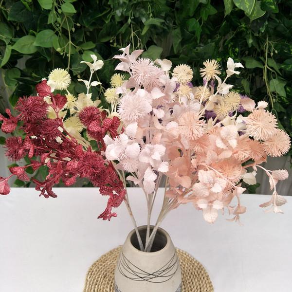 Çok Renkler Yapay Rime Ev Dekor Süslemeleri Simüle Karahindiba Saf İşi Bahçe Bitkileri Çiçek Aranjmanı Yeni Varış 4 8ly L1