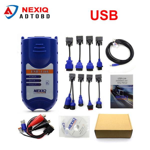 NEXIQ Auto Heavy Duty Truck Scanner Tool NEXIQ USB Link Better Than DPA5 On  Sale Nexiq 125032 Usb Link DHL Electronic Diagnostic Test Electronic