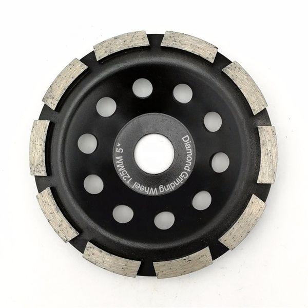 5 PCS 4 inch Coarse Grinding Diamond Turbo Cup Polishing 8 Pad Granite Concrete