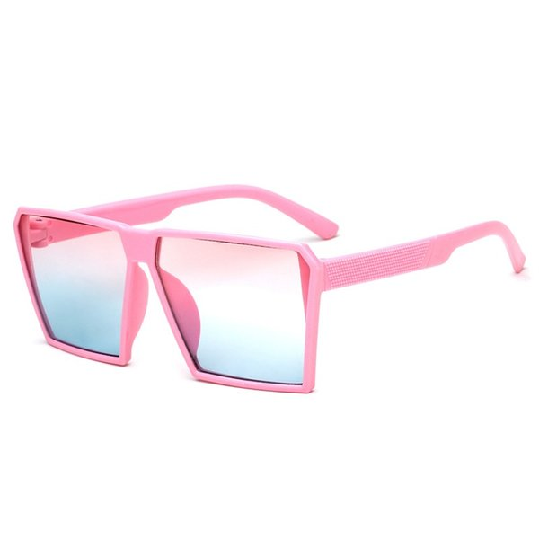 Hot Ins Populai Coreano Crianças Viagens Legal Quadrado Óculos de Armação Atacado Nova Moda Caráter Ultravioleta-prova Decorado Óculos De Sol Moldura