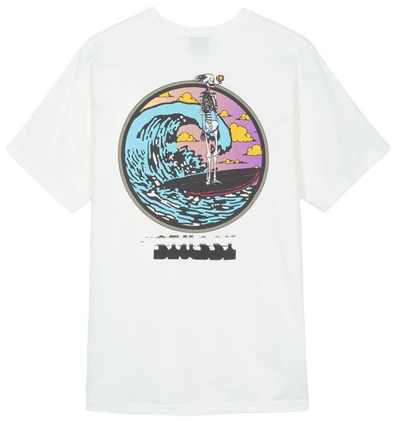 Camicia di moda casual streetwear di lusso del progettista magliette uomo tee shirts lettera stampa t shirt uomo top manica corta magliette S-XL vendita calda