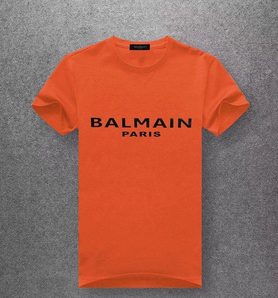 Новые мужские футболки с короткими рукавами хлопок дизайнер футболка принты шею тонкая футболка человек мода пуловер скейтбординг топы 100% хлопок