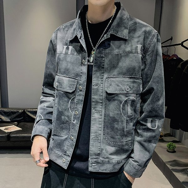 Denim Jacket Men 2019 New Spring And Autumn Casual Korean Version Of The Trend Of Tooling Jacket Slim Handsome Clothes factory SH190902