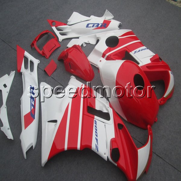 23colors+Screws red white motorcycle cowl Fairing for HONDA CBR600 F2 1991 1992 1993 1994 600F2 91 92 93 94 ABS motor panels