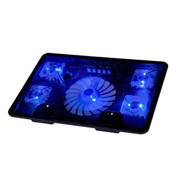 Laptop Cooler Notebook Laptop Cooling Fan Stand Pad Anti-slip Low Noise Large Air Volume Cooling Fan Adjustable Angle
