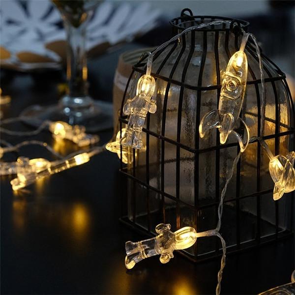 Großhandel Astronaut LED Batterie Lampe String Schlafzimmer Festival  Dekoration Lampe DIY Schöne Kleine Lampe String Im Freien Wasserdichte  Farbige ...