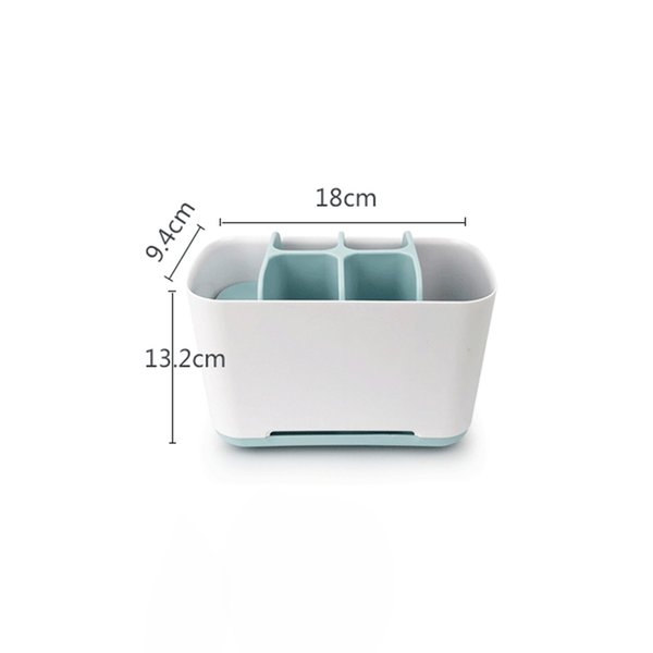 top popular Household Toothbrush Holder Bathroom Storage Organizer Stand For Electric Toothbrush Toothpaste Multifunction Storage Box 2021