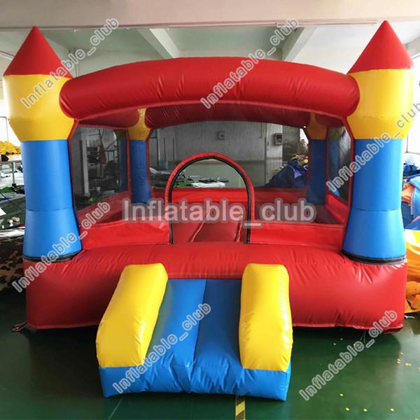 Бесплатная доставка бесплатная воздуходувка надувной батут замок для детей низкая цена надувные прыжки дом 3 * 3 * 2 м мини надувной батут дом