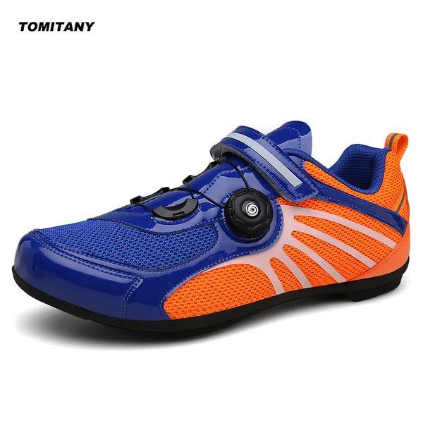 Nefes Pro Kendinden Kilitleme Bisiklet Ayakkabı Yol Bisikleti Bisiklet Ayakkabı Ultralight Atletik Yarış Sneakers Zapatos Ciclismo