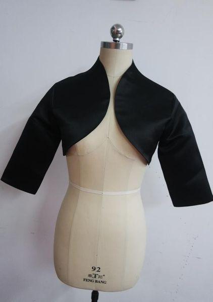 High end customization Hot Jacket Women black wedding Ruthshen wedding Accessories short Bolero jackets Accessories